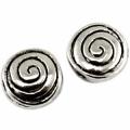 Metalne perle boje srebra - antik srebra