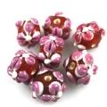 Staklene perle | Repromaterijal za izradu nakita i bižuterije | perle, alke, kopče, konac za nizanje | Srbija, Novi Sad